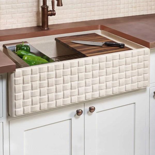 farmhouse kitchen sink accessories