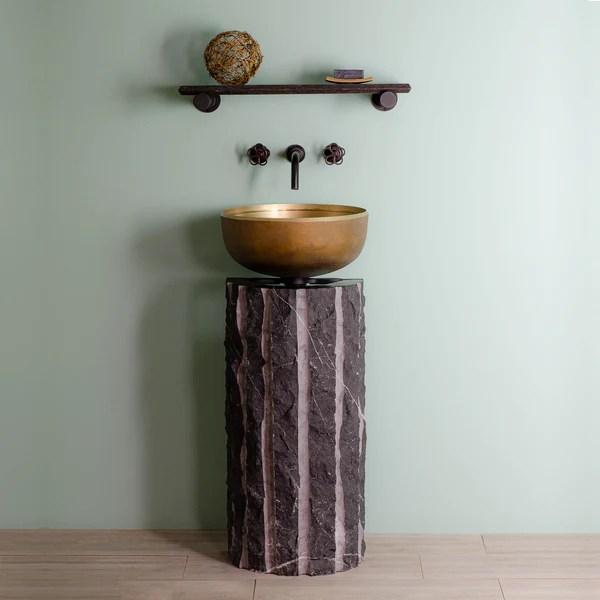 pedestal sinks sculptural sinks for