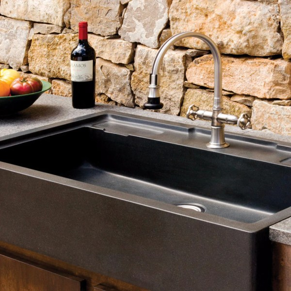 Salus Outdoor Kitchen Sink     Stone Forest Salus Outdoor Kitchen Sink