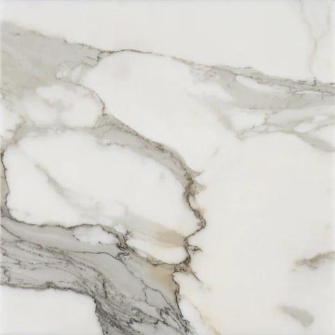 18 x 18 polished italian calacatta gold marble tile extra premium