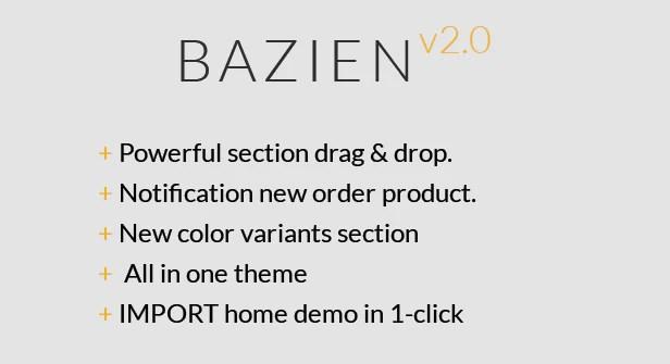 Bazien - Shopify Retina Theme - 1