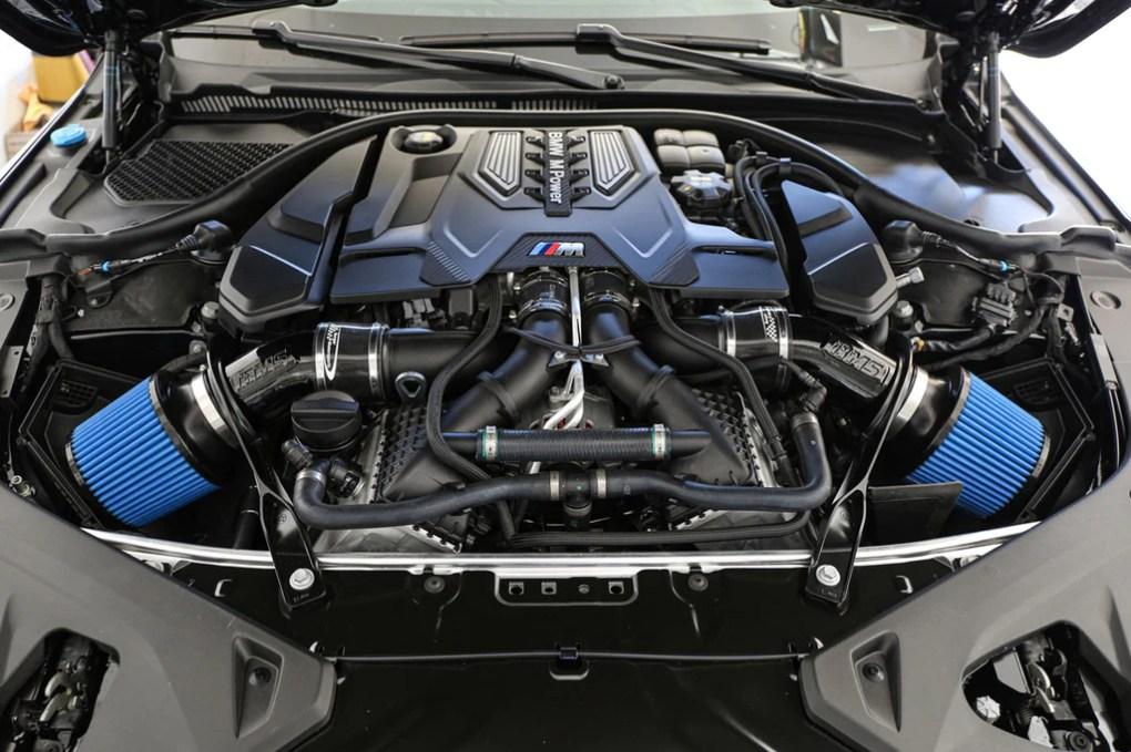 BMW M8 Air Intake system by Burger Motorsports F91 F92 F93