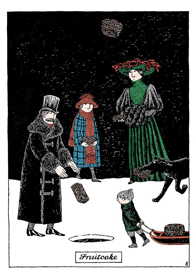 Edward Gorey Holiday Card Assortment The Readers