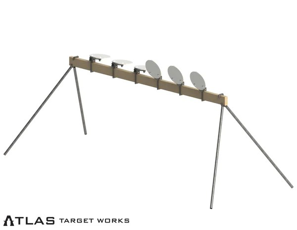 ar500 plate rack non remote reset