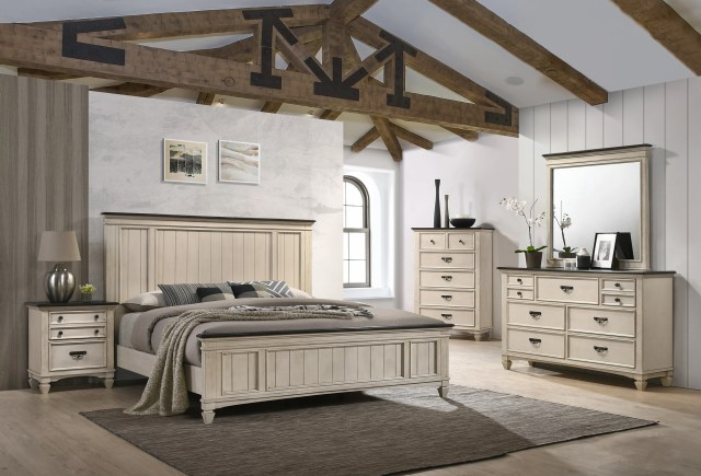 Modern Farmhouse Sawyer Queen Size Bedroom Set | My ...