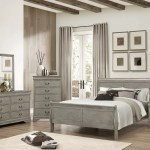 Gray Queen Sleigh Bedroom Set My Furniture Place