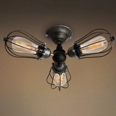 flush mount lights surface mounted