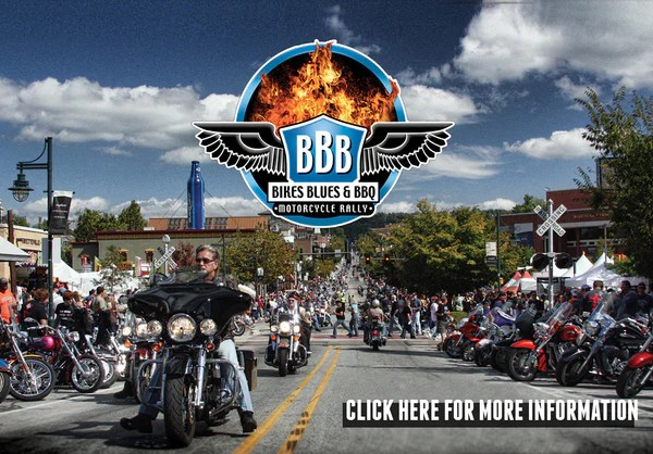 Bikes Blues and Barbecue Website