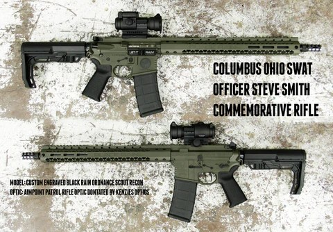 Officer Steve Smith Rifle