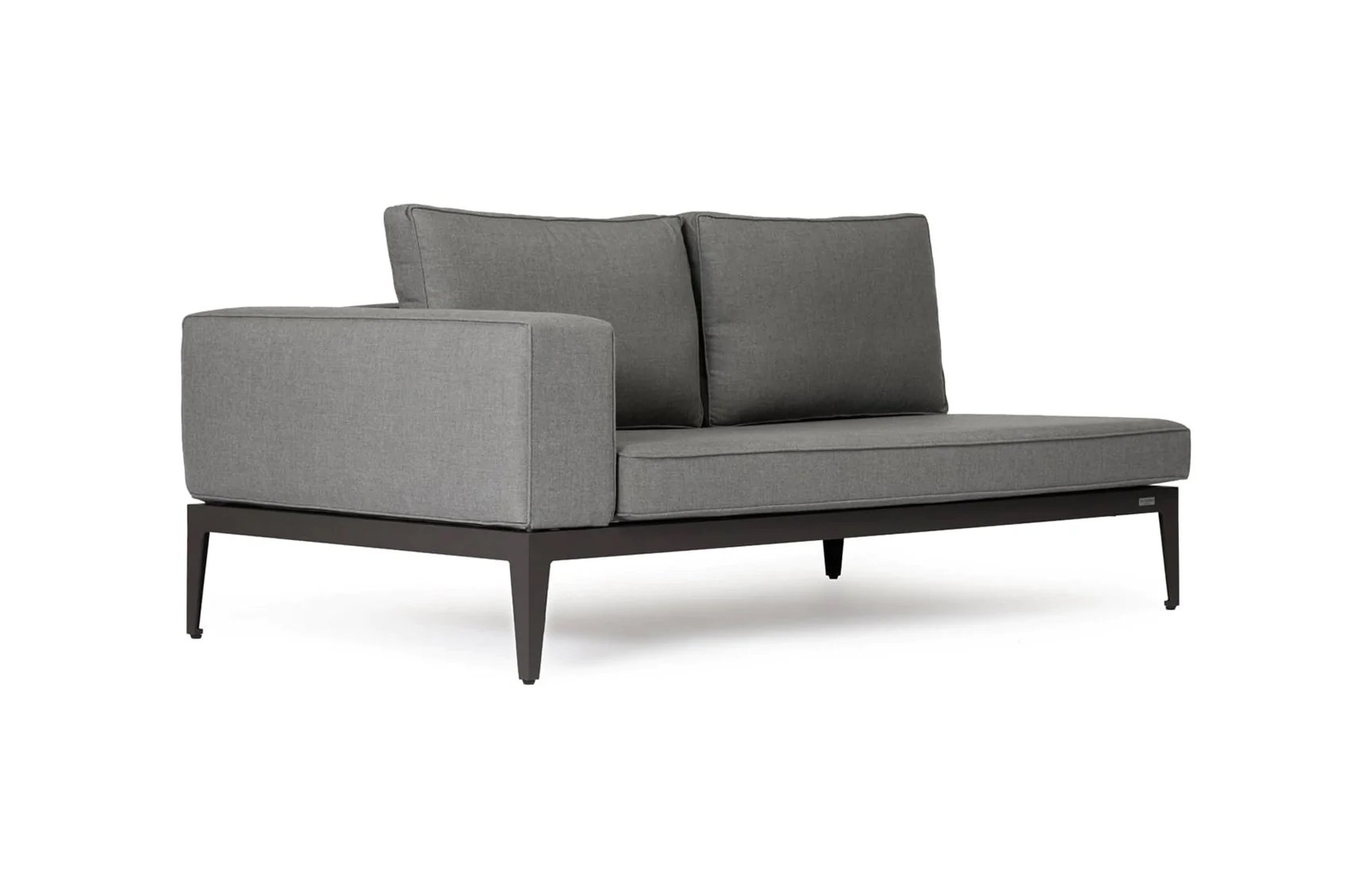 balmoral two seater one arm sofa l r