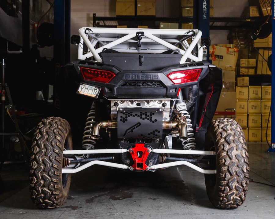 for polaris rzr turbo xpt and s muffler