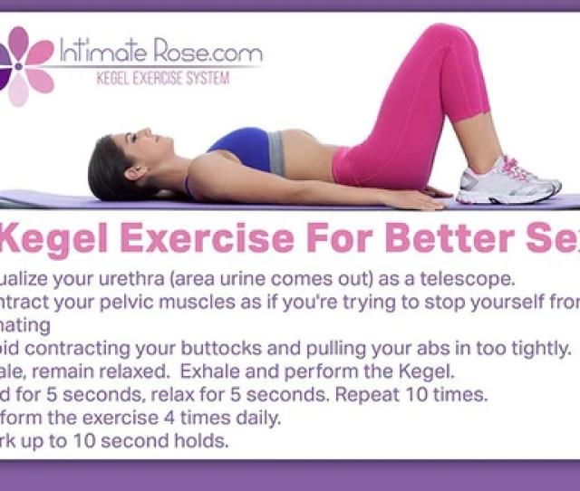 Vagina Vag V Tight Pelvic Strong Kegels Exerciser Exercise Sexual