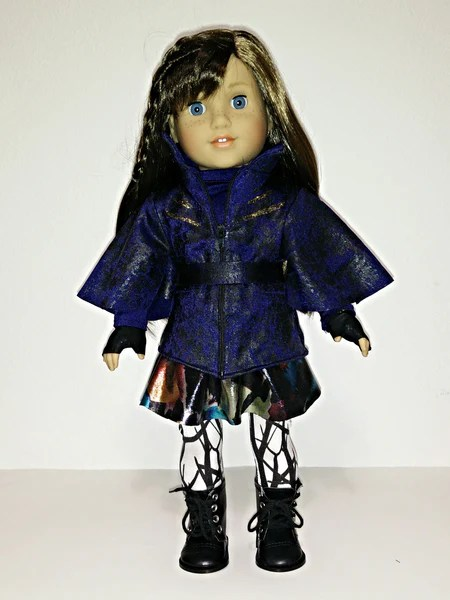 Disney Descendants Evie Outfit For American Girl Doll