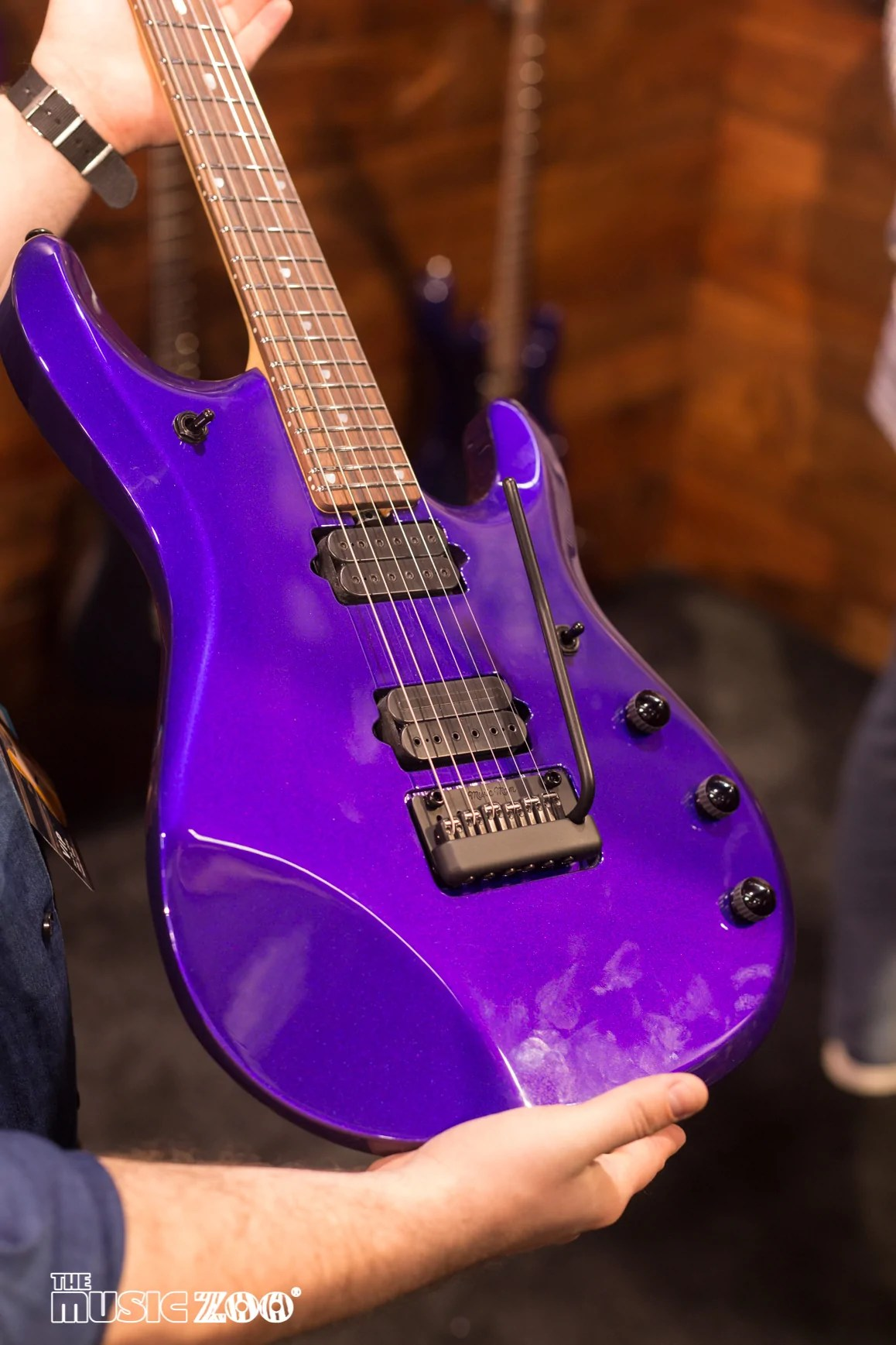 NAMM 2018 The Ernie Ball Music Man 2018 Collection The