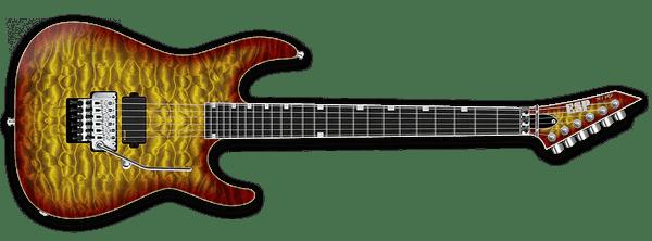 ESP USA Guitars 2019 M Series - The Music Zoo