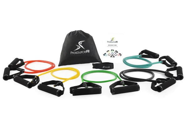 Tube Resistance Bands Set with Attached Handles