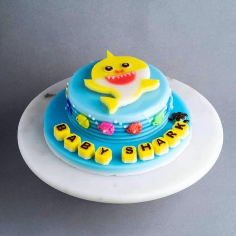 Baby Shark Jelly Cake 8 Quot Eat Cake Today Birthday Cake