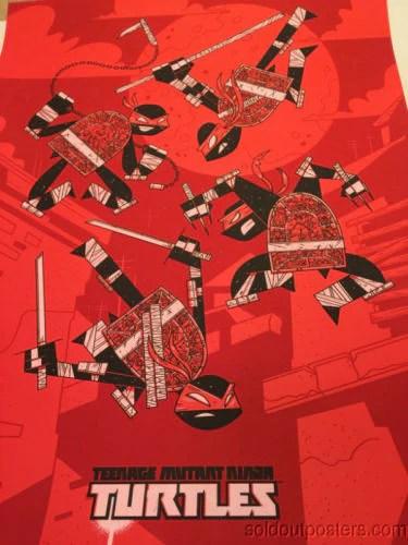 Teenage Mutant Ninja Turtles 2014 Andrew Kolb Poster Print