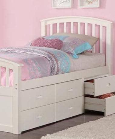 skyler storage bed for girls