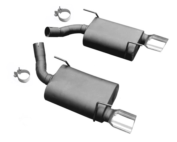 2005 2010 ford mustang gt v8 legato axle back exhaust kit