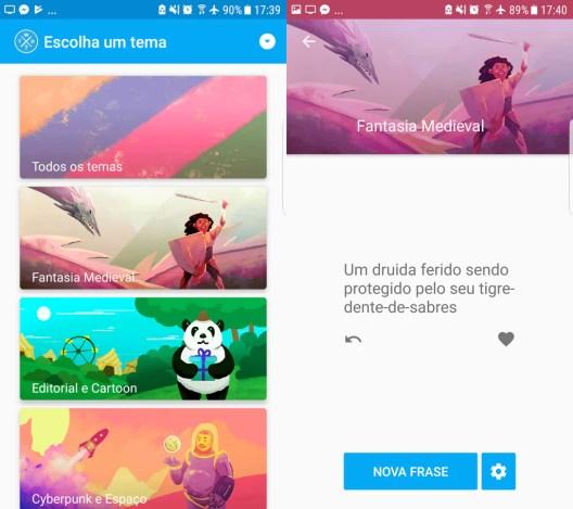 Screenshot do Aplicativo