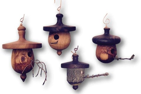 Functional Birdhouses