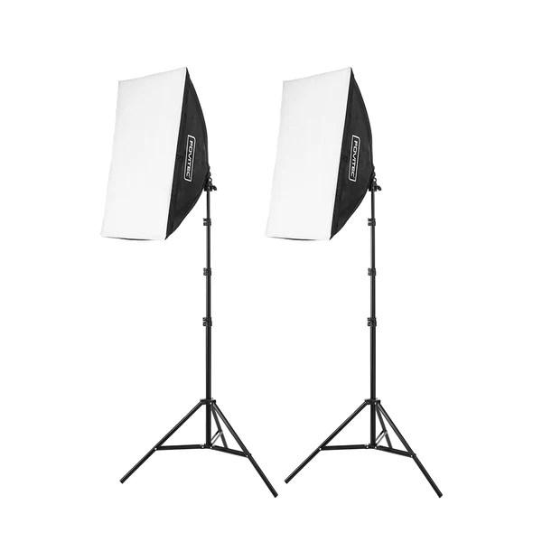 2 light ez setup fluorescent lighting kit