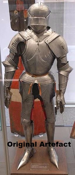 Gothic Plate Armour Medieval Cuirass Reproduction Late