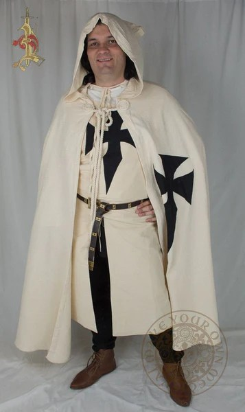 Teutonic Knights Crusader Full Cape Make Your Own Medieval