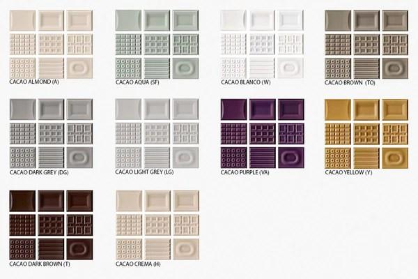 SD Cento Per Cento 3D Fields Italian Wall Tile Decor
