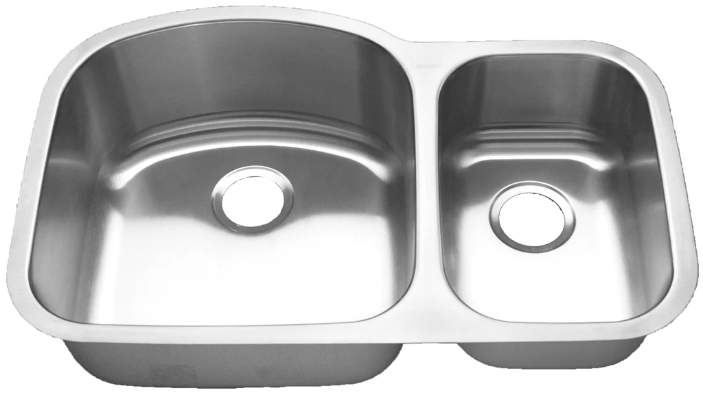 blanco stainless steel double 70 30 bowl sink 31 3 4