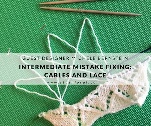 Intermediate Mistake Fixing with Michele Bernstein at Stash on June 2, 2018