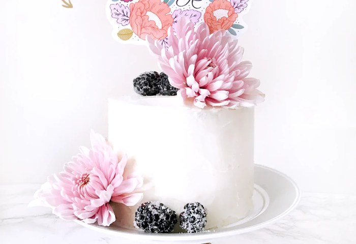 Cake Topper Diy Printable For Mothers Day Paper Raven Co