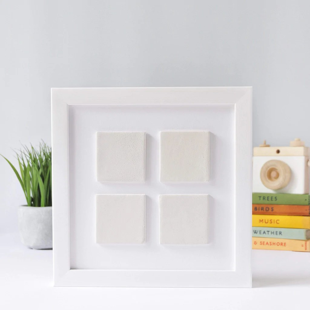 the four ceramic tile frame collection