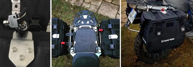 MotoBags - Motorcycle Bags - locking system