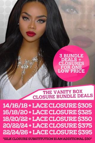 Bundle Deals THE VANITY BOX