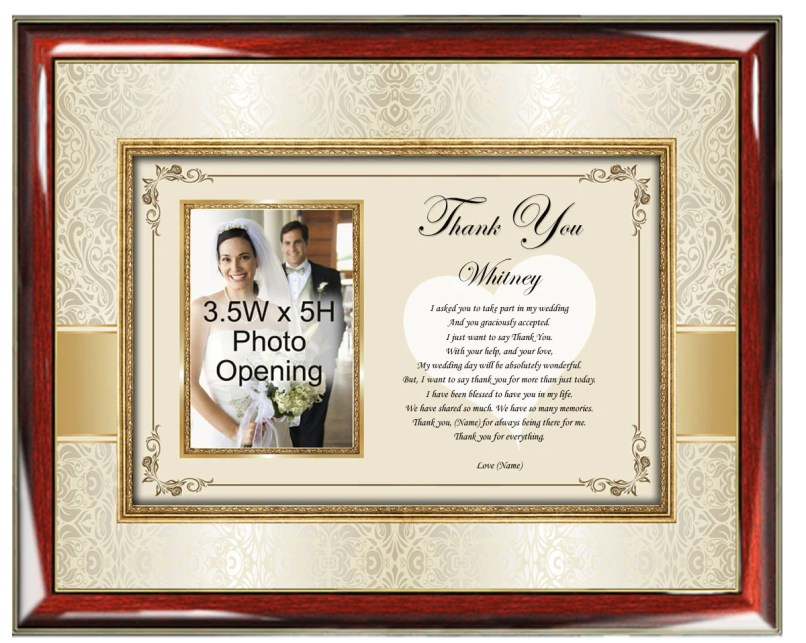 Personalized Maid Of Honor Picture Frame | Framesite.co
