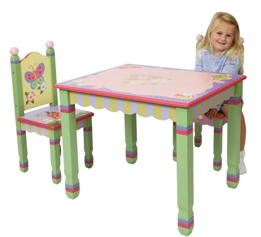 Magic Garden Table And Two Chair Set