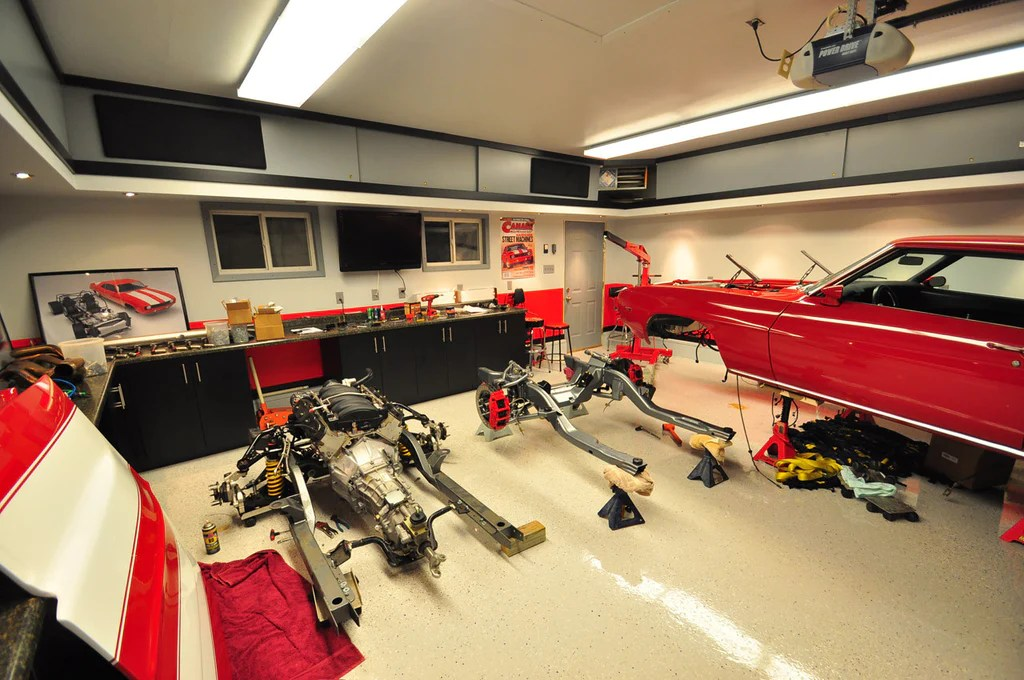 Top 10 Decorating Ideas For The Garage Auto Enthusiast ... on Garage Decorating Ideas  id=76258