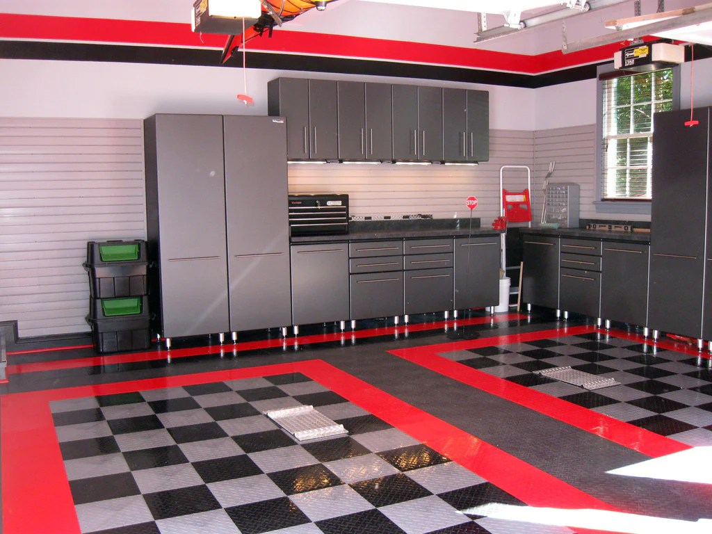 Top Man Cave Garage Decorations and Design Ideas ... on Garage Decorating Ideas  id=50560