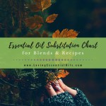 Essential Oil Substitution Chart For Blends Recipes