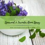 How To Make Spearmint Lavender Essential Oil Room Spray