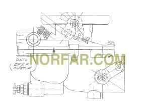 Zenith 12188 Carburetor Wisconsin AGN engine part L63A  NORFARCOM