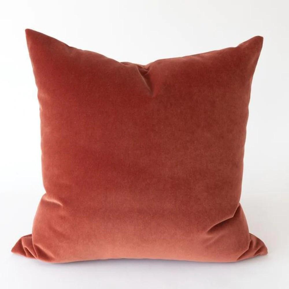 red orange pillow online