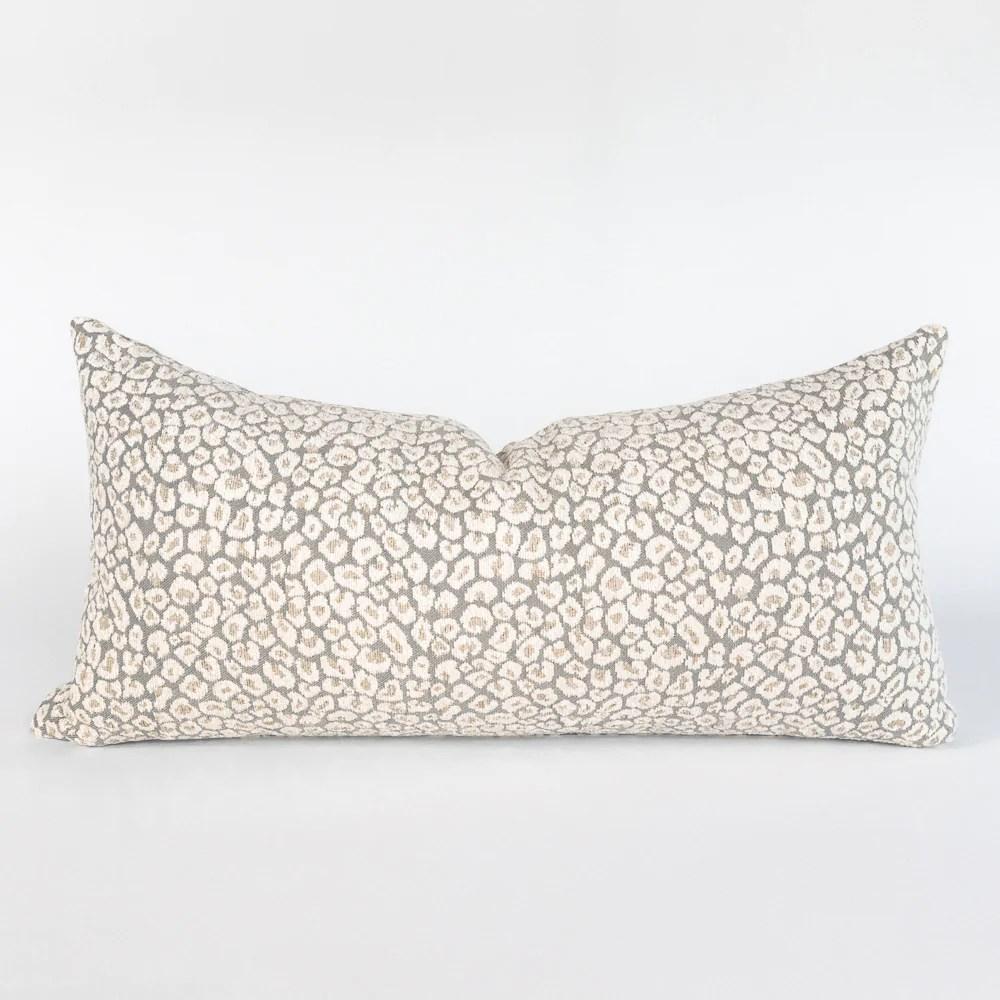 jackie 12x24 lumbar pillow spots