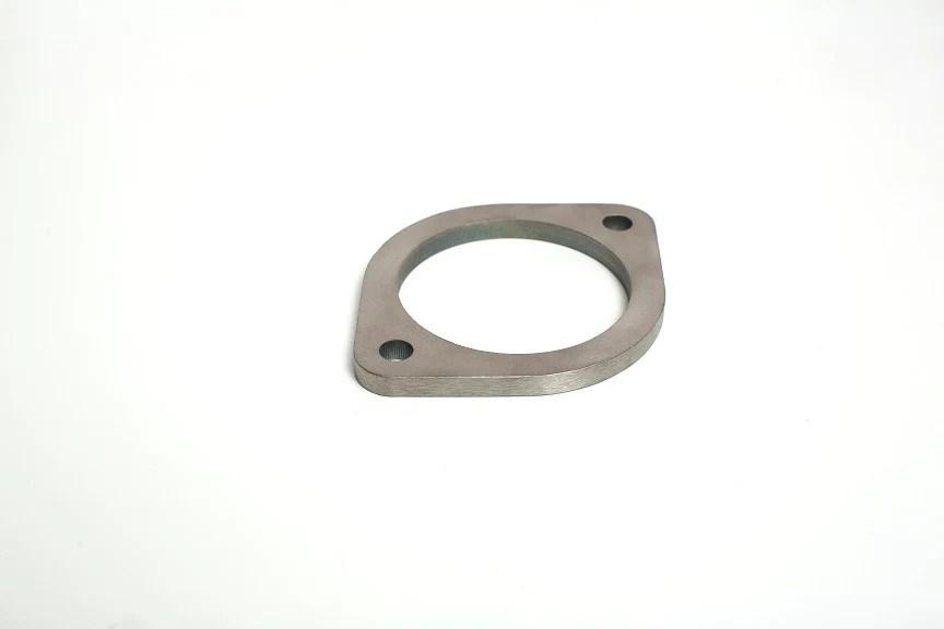 3 2 bolt titanium exhaust flange ticon industries