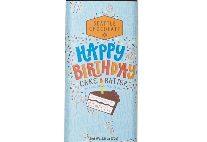 Seattle Chocolates Happy Birthday Truffle Bar Knack