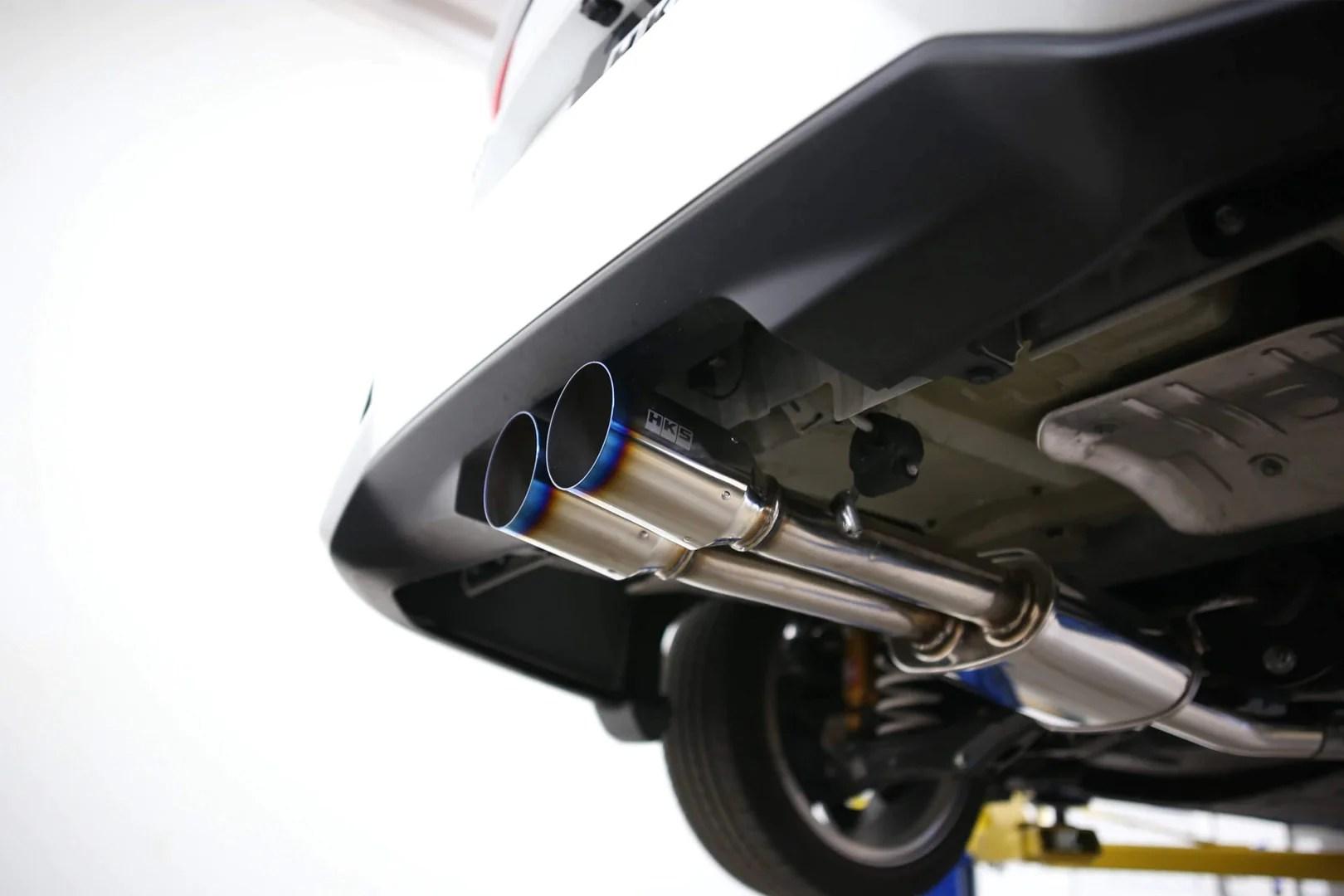 hks hi power muffler system 2017