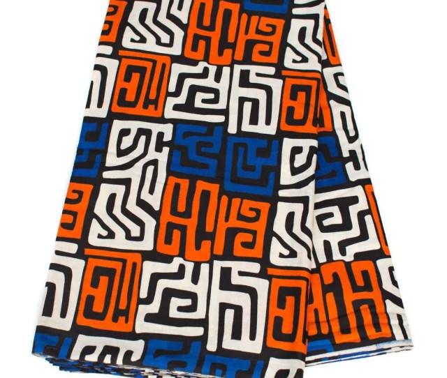 African Fabric From Mali 6 Yards Kuba Cloth Print African Fabric Shop Tribal African Fabric From Mali 6 Yards Kuba Cloth Print African Fabric Shop
