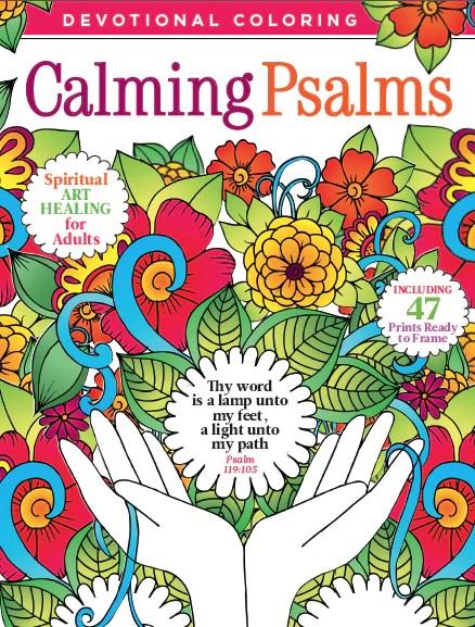 Devotional Coloring Calming Psalms Media Lab Publishing